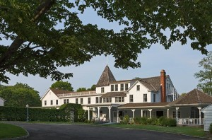 Exterior view of the inn