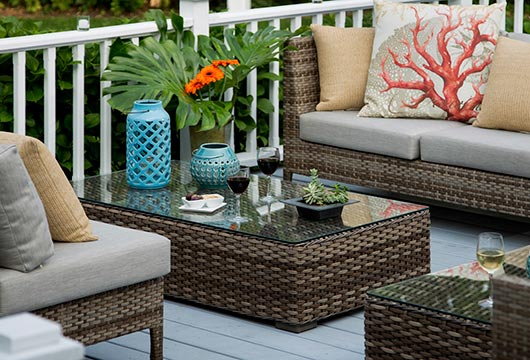 Boutique Hotel in Shelter Island - Deck